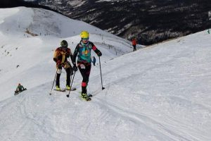 Summit locals LaRochelle, O'Keefe win Breck Ascent ski mountaineering races on Peak 10
