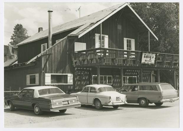 Fatty's is shown in this photo circa the early 1970s.