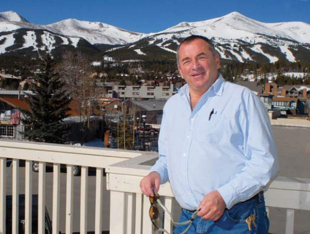 Longtime Breckenridge resident and owner of Fatty's Pizzeria owner John Daisy is shown here in 2012 after he was named to the Colorado Food Service Hall of Fame. Daisy recently sold the business to Peter and Stacy Joyce.
