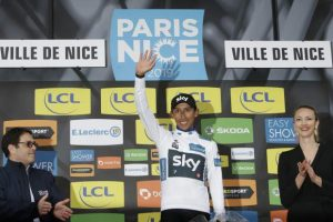 Egan Bernal wins Paris-Nice race after lively final stage