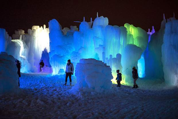 Dillon parks committee wants ice castles out of Town Park because of concerns about damage