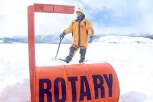 Photos: Rotary Club places 'ice device' at the center of Dillon Reservoir as part of its annual guessing game
