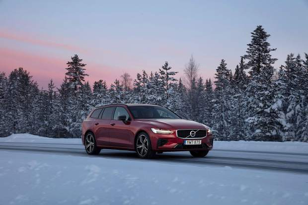 Mountain Wheels: Volvo's V60 wagon offers almost-perfect all-season motoring