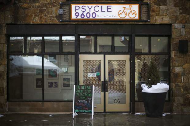 Psycle 9600 Spin Studio seen on Wednesday, March 6, at Main Street Station in Breckenridge.
