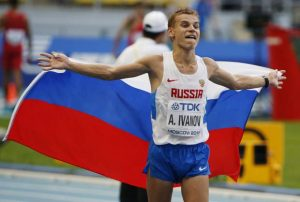 Champ Race walker Ivanov banned for doping; Austrian cop charged for leaking skier doping video