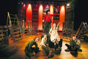 Summit High School performs 'Peter and the Starcatcher' for spring theater production