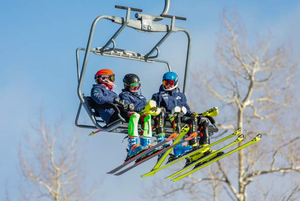 Ski racers with Ski and Snowboard Club Vail will have a new lift and more terrain for training with the new Golden Peak expansion.