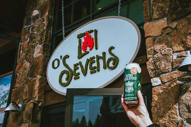 Sevens, the on-mountain restaurant at Breckenridge Ski Resort's Peak 7 has been transformed into O'Sevens until March 17.