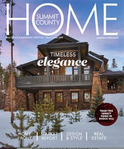 Summit County Home:  March 2019/April 2019