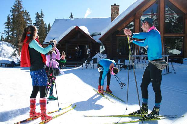 Scenes from Sunday's 17th annual Breckebeiner Nordic Ski-A-Thon fundriser at the Breckenridge Nordic Center in Breckenridge.
