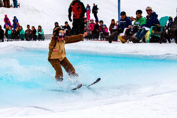 The Kidtopia Slush Cup offers a smaller pond for contestants ages 6-12 while those 13 and older compete in the Keystone Slush Cup.