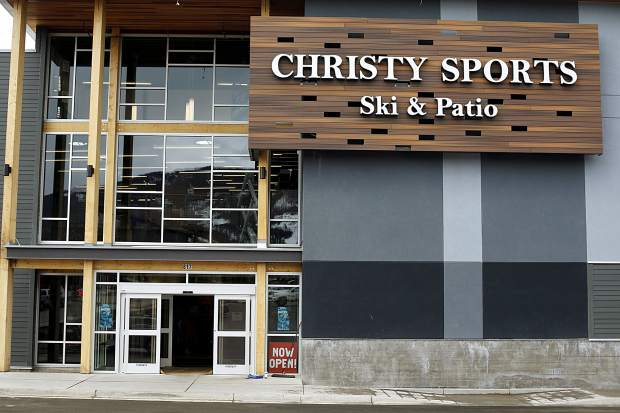 The renovated Christy Sports Dillon location has opened to the public Tuesday, April 2, along Highway 6.
