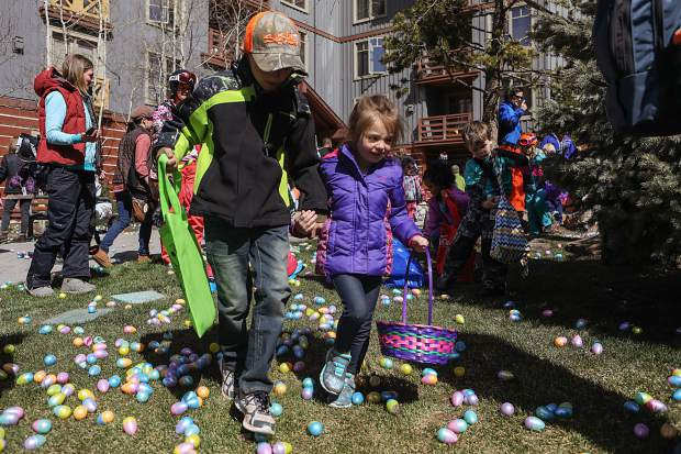 Copper Mountain Resort will once again host one of the largest egg hunts in the world on Sunday, April 21. There will be 5,000 eggs spread across over 2,500 acres.