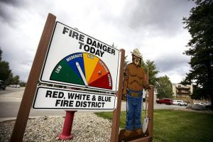 Fire danger increased to moderate across Summit County