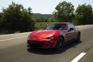 Mountain Wheels: Mazda's targa-topped Miata MX-5 RF provides multi-season fun