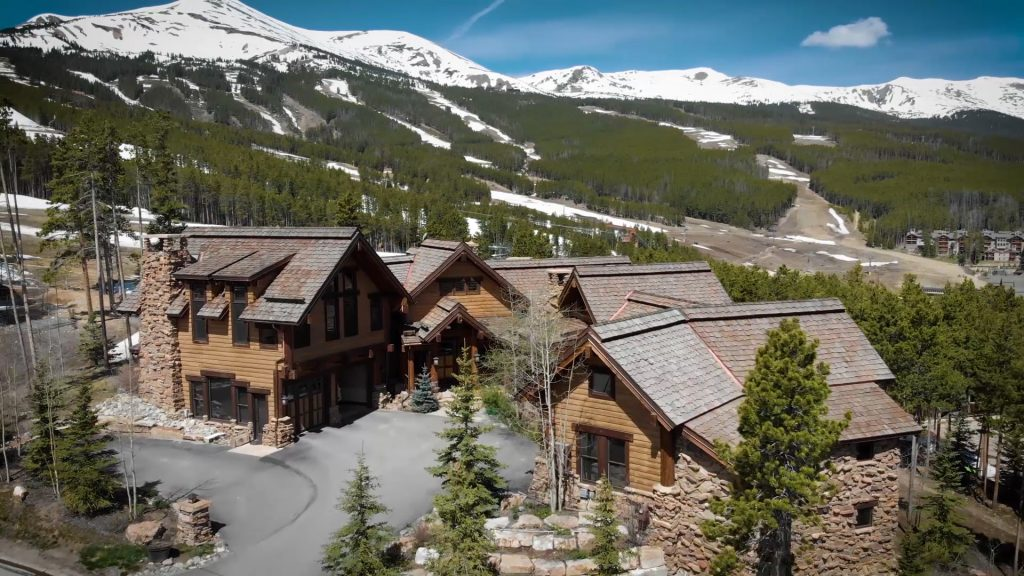 This luxury home at 382 Timber Trail Rd., in Breckenridge, recently sold for $10,100,000, a new real estate record in town.