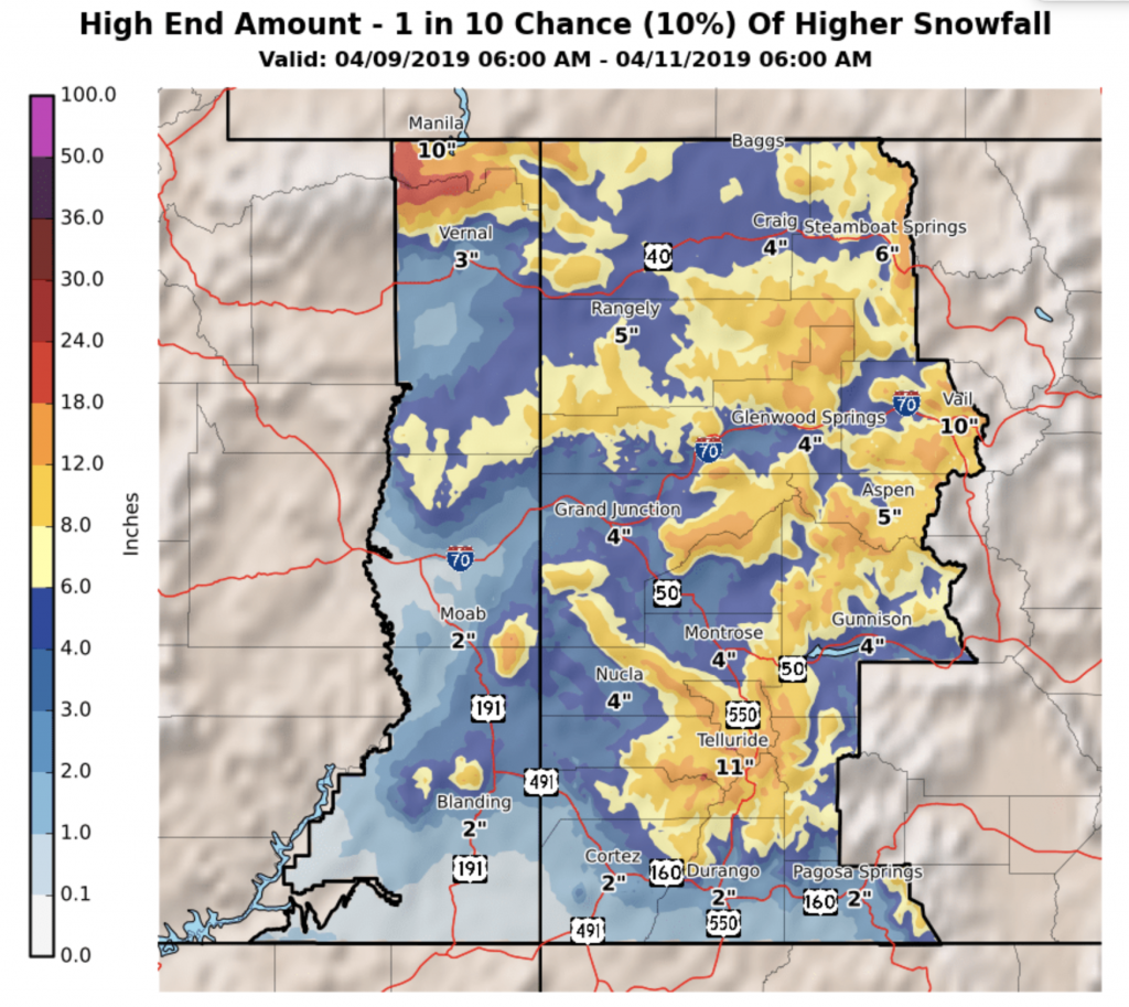 Winter storm warning for Colorado\'s central mountains   SummitDaily.com