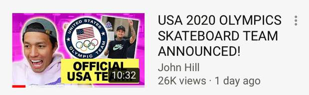 An incorrect headline from a popular skateboarding vlogger