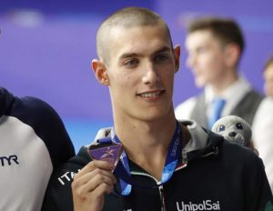 Swimmer Vergani provisionally suspended for cannabis