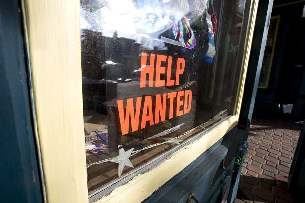 Lowest jobless rate in Colorado plagues business in Summit County