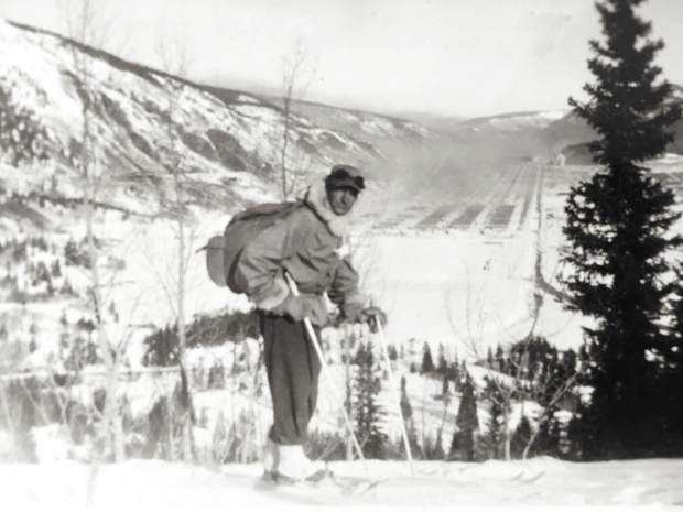 Sgt. Harry Poschman was an avid skier and early member of the 10th Mountain Division.