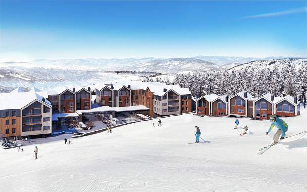 This conceptual rendering from Lionheart Capital's website shows a proposed ski-in, ski-out hotel at the base of Peak 8 at Breckenridge Ski Resort, where the Miami-based firm plans to build a 150-room luxury hotel and over 100,000 square feet of wholly owned condominiums.