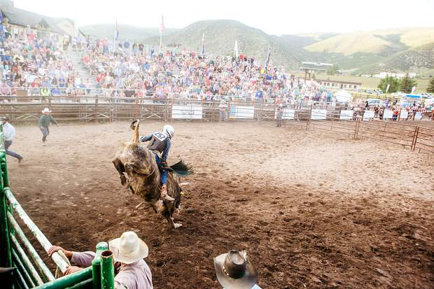 Tickets for participatory events do not include admission into the rodeo; all participants must also purchase a rodeo ticket. Audience participation events include calf scramble, mutton bustin' and burro racing.