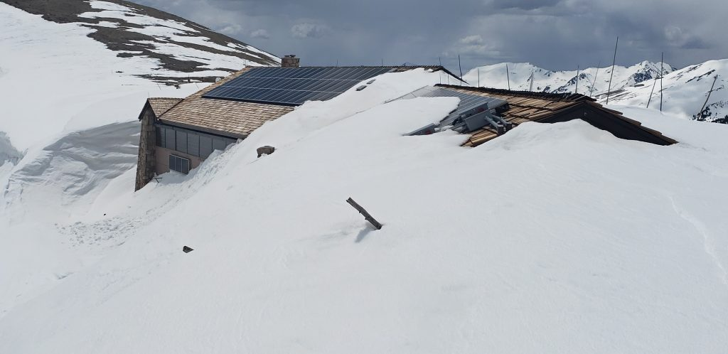 Plowing at 11,796 feet: Crews reach a buried Alpine Visitor Center in Rocky Mountain National Park