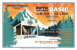 Broken Compass Brewing celebrates five years with music, games
