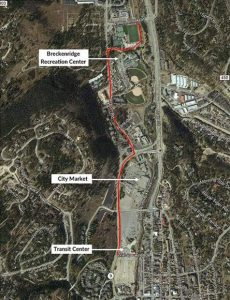 Breckenridge closes recpath from Watson Avenue to rec center