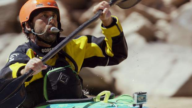 For May's Summit Film Society event, the public is invited to attend a screening of 'The Weight of Water,' a movie about the blind athlete Erik Weihenmayer kayaking the Grand Canyon solo.