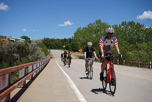 After bike accident with mountain goat, repaired Dillon local rides cross-country to raise funds to fight pediatric cancer