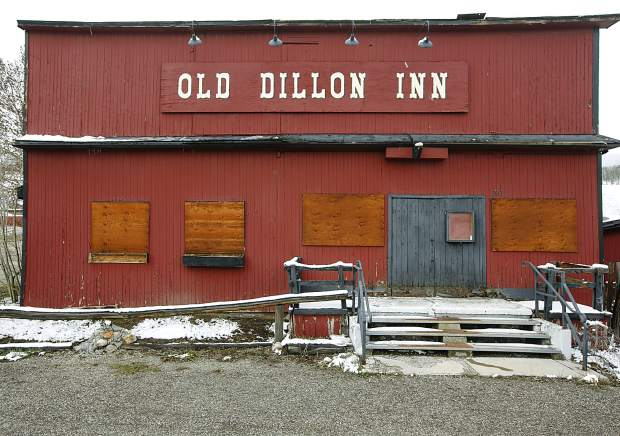 Old Dillon Inn along Highway 9 Thursday, May 9, in Silverthorne.