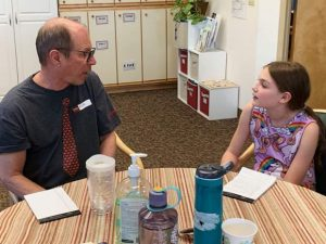 Peak School and Timberline Adult Day Services build bridges across the generation gap
