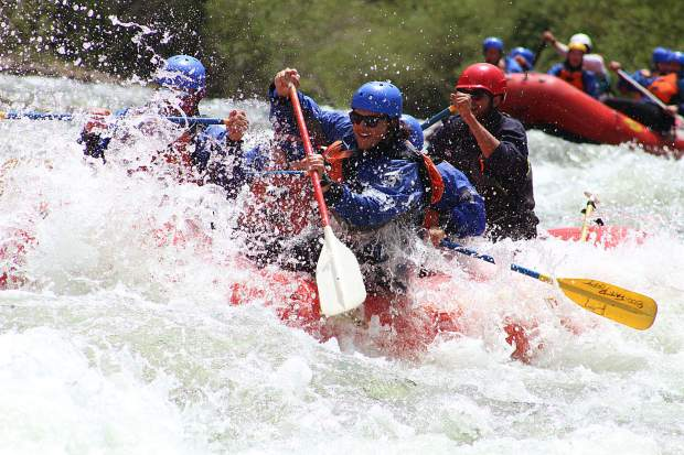 Local outfitters such as Performance Tours Rafting in Breckenridge anticipate as many as seven weeks of raftable flows on the Blue River north of Silverthorne this summer.