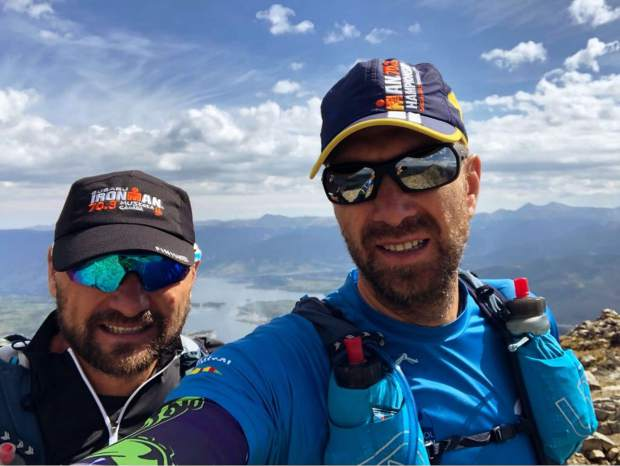 Michal Ovsjannikov is shown here with is brother and lifelong partner in mountain adventures, Martin Ovsjannikov.