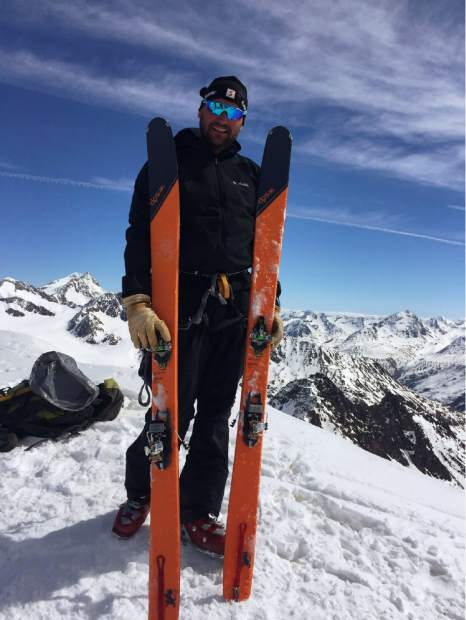 Michal Ovsjannikov is shown here summiting a mountain in the Alps in Europe. An accomplished mountain climber and trail runner with over 30 years of experience, Ovsjannikov fell during trek last summer on the Tenmile Traverse when a rock he grabbed hold of gave way.