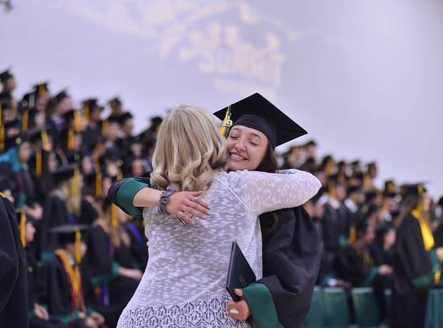 Summit High School graduates received diplomas on Saturday