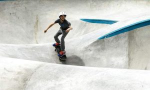 Photos: Frisco's remodeled skate park