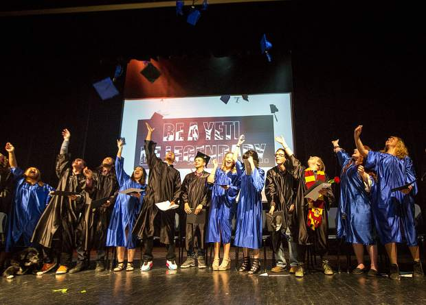 Snowy Peaks, Summit County's alternative public high school, celebrates graduation for is class of 2019