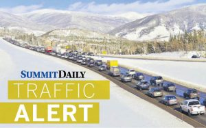 Long delays for eastbound I-70 travel Saturday evening