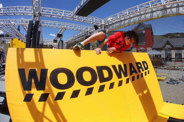 New nation-wide 'ninja' contest to come to Woodward Copper WreckTangle obstacle course June 14