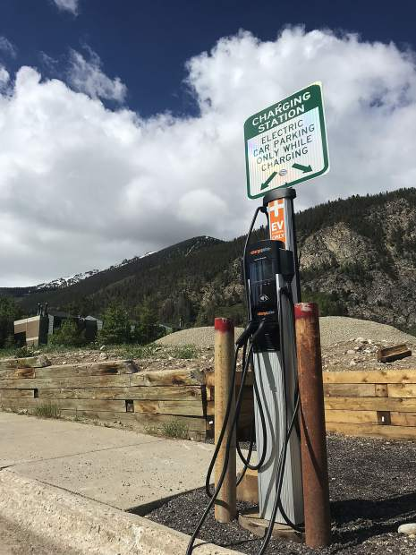 Frisco installs new electric vehicle charging station