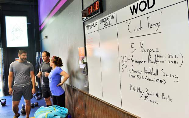 "The ""Coach Fergs"" workout, designed for a June 1 fundraiser at CrossFit Breckenridge, consisted of reps specifically detailed to reflect an important date — Ferguson's birthday on May 20, 1969"