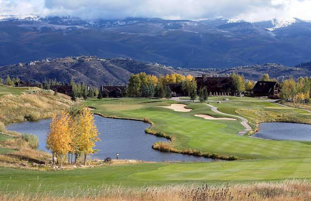 The Cordillera Mountain Course is on land that was once a working ranch.