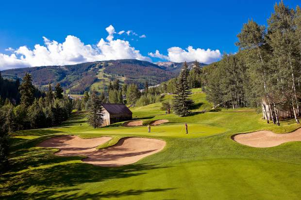 The Beaver Creek Golf Club is known for its challenging fairways and beautiful scenery.