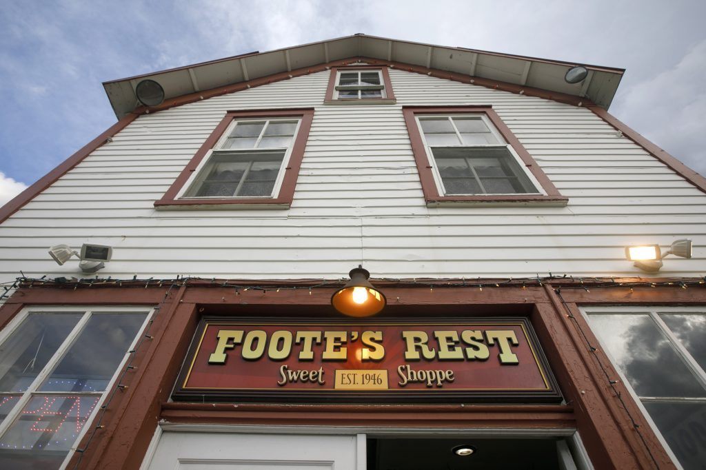 Foote's Rest Thursday, June 6, in Frisco.