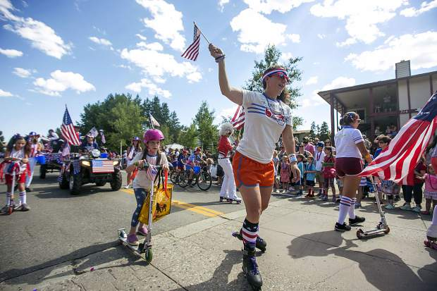 Scenes from the Independence Day Parade on Wednesday on Main Street in Breckenridge.