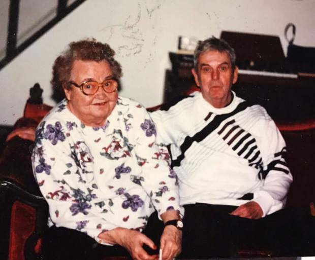 My grandparents Teresa and Charles Beissel together as I remember them as a young child.