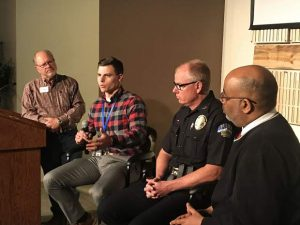 Summit community leaders participate in panel on the role of guns in schools and places of worship